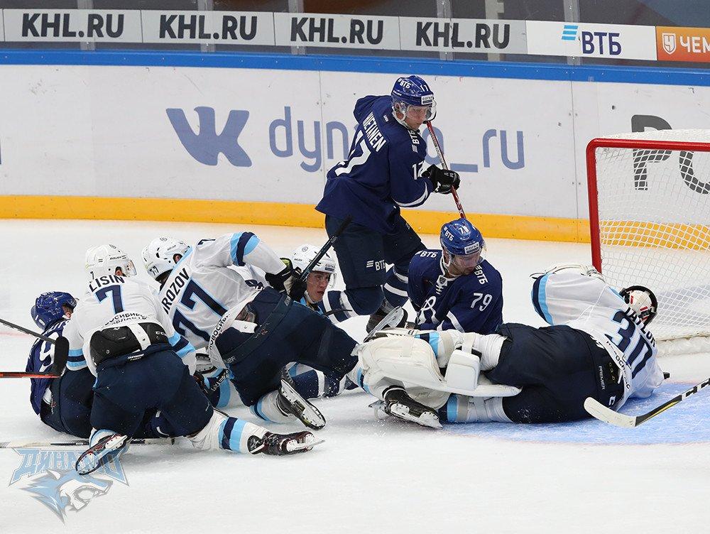 Проклятие второго периода Динамо М - Сибирь видео