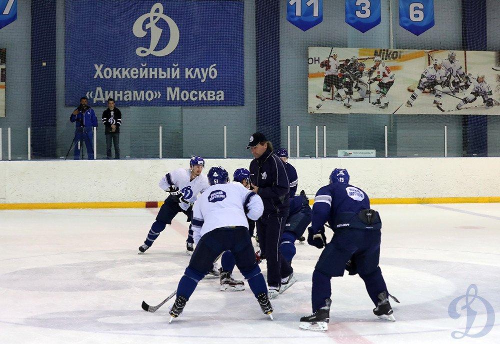Новогорск. Открытая тренировка для прессы - Хоккейный клуб «Динамо» Москва